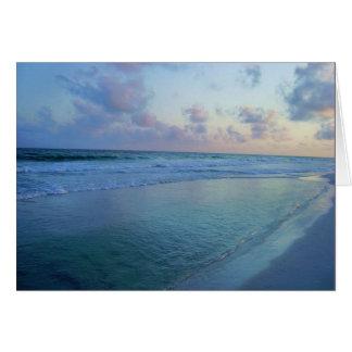 Tarjeta La marea azul de Eric