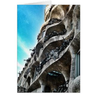 Tarjeta La Pedrera de Antoni Gaudí