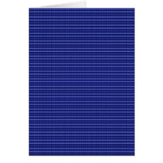 Tarjeta La plantilla DIY de la textura de la raya azul