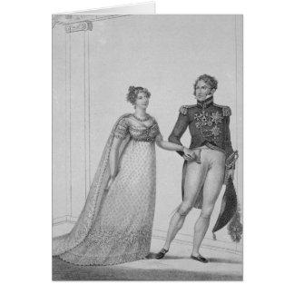 Tarjeta La princesa Charlotte de País de Gales y del