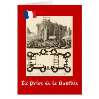 Tarjeta La Prise de la Bastille