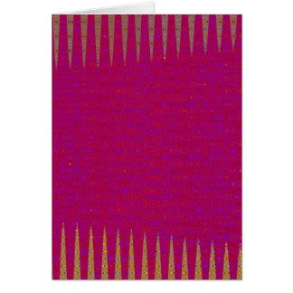 Tarjeta La púrpura santa de la plantilla DIY añade IMAGEN