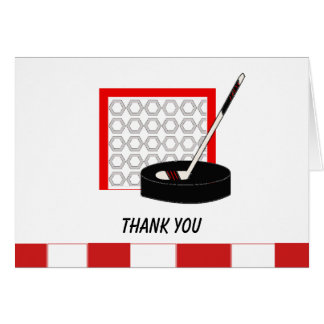 Tarjeta La red del hockey le agradece