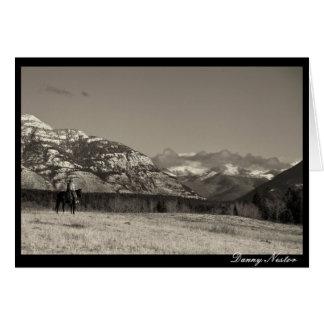 Tarjeta La vida de un vaquero