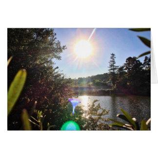 Tarjeta Lago 2 park del barranco de Franklin