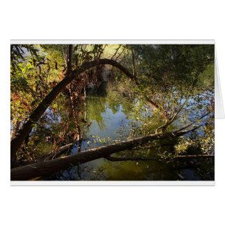 Tarjeta Lago 4 park del barranco de Franklin