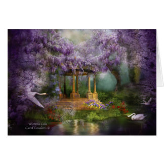 Tarjeta Lago ArtCard wisteria