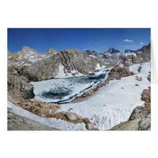 Tarjeta Lago del oso blanco y bear de Brown - Sierra