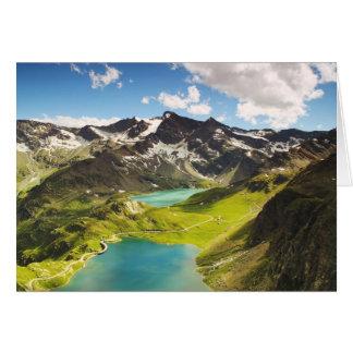 Tarjeta Lago hermoso italy Agnel
