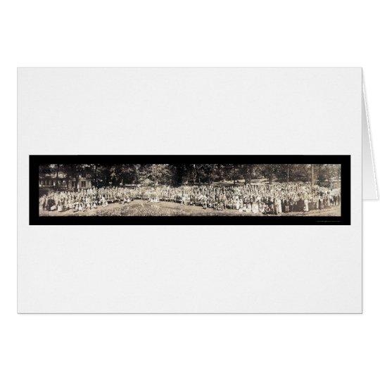 Tarjeta Lago Winona EN la foto 1915 de la biblia