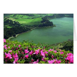 Tarjeta Lagoa das Furnas - Açores