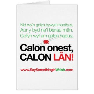 Tarjeta Lan de Calon