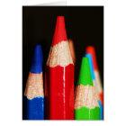 Tarjeta Lapices de Colores II
