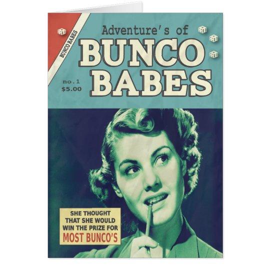 Tarjeta Las aventuras de los bebés de Bunco