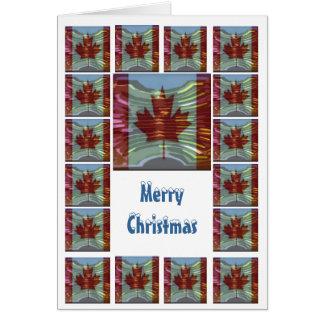 Tarjeta Las Felices Navidad Canadá - compre el espacio en