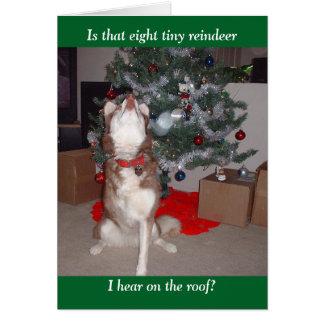 Tarjeta Las Felices Navidad de Skye