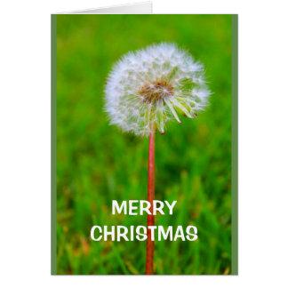 Tarjeta Las Felices Navidad esperan que sea DANDE y no soy