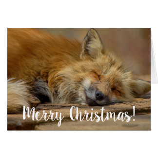 Tarjeta Las Felices Navidad le toman el Fox fácil