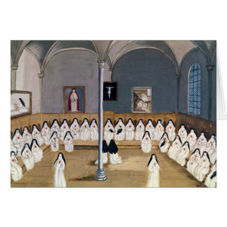 Tarjeta Las hermanas de la abadía