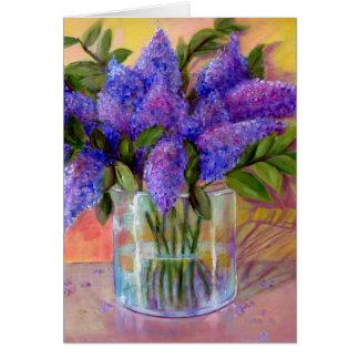 Tarjeta Las lilas de Lee