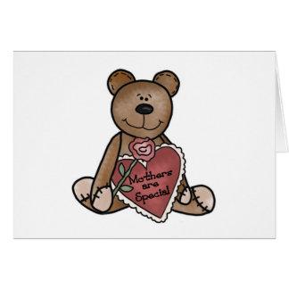 Tarjeta Las madres del oso de peluche son camisetas y