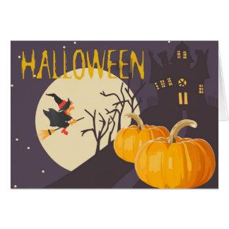 Tarjeta Las mejores brujas de Halloween