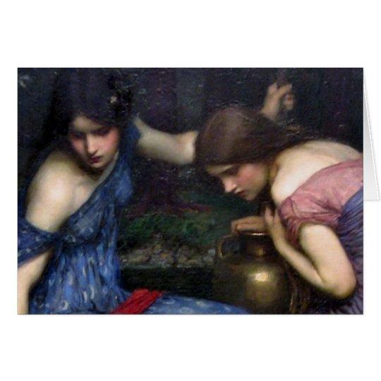 Tarjeta Las ninfas que encuentran a Orfeo