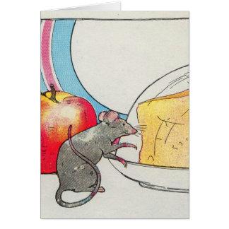 Tarjeta Le he visto, pequeño ratón