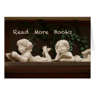 Tarjeta Lea más libros