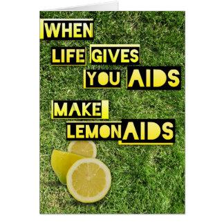 Tarjeta LemonAIDS