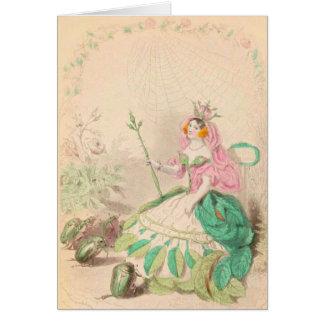 Tarjeta Les color de rosa Fleurs