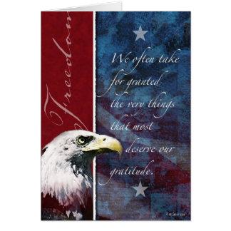Tarjeta Libertad Gratitude3 - Ayuda de la tropa