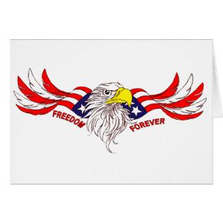 Tarjeta Libertad para siempre