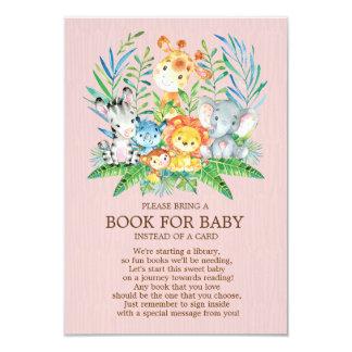 Tarjeta Libro de la fiesta de bienvenida al bebé de los