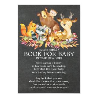 Tarjeta Libro neutral de la fiesta de bienvenida al bebé
