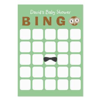 Tarjeta linda del bingo de la fiesta de bienvenida tarjetas de visita