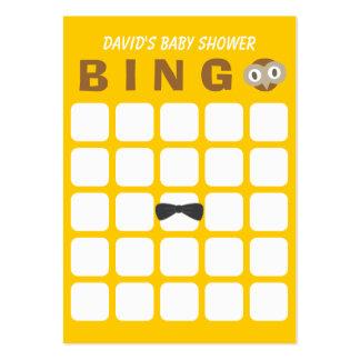 Tarjeta linda del bingo de la fiesta de bienvenida tarjeta de visita