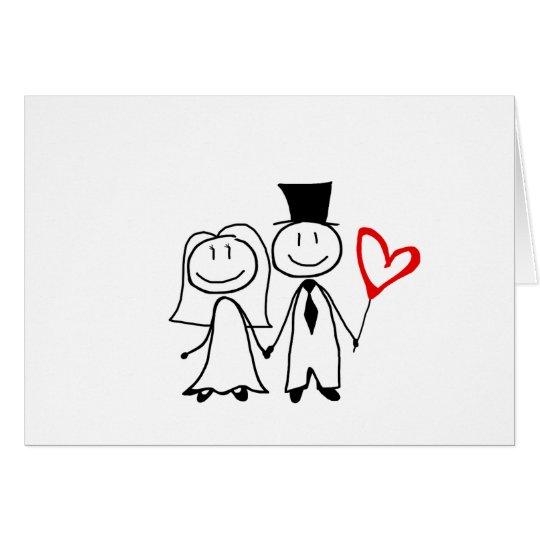 Tarjeta linda del día de San Valentín del dibujo