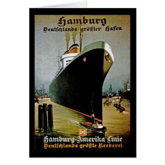 Tarjeta Línea de Hamburgo-Amerika
