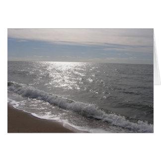 Tarjeta Línea de la playa de Connecticut