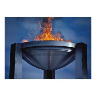 Tarjeta Llama olímpica asombrosa