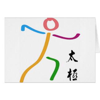 Tarjeta Logotipo de la ji del Tai