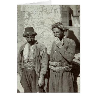 Tarjeta Los armenios