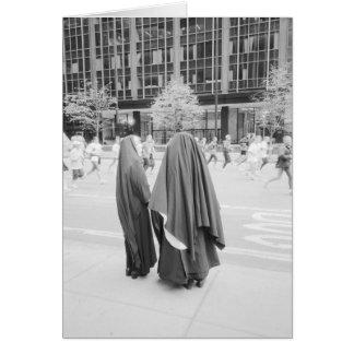Tarjeta LOS E.E.U.U., NUEVA YORK: Monjas de New York City