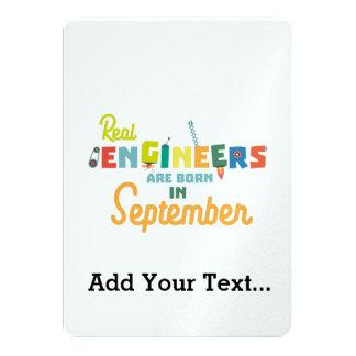Tarjeta Los ingenieros son en septiembre Zt500 nacidos