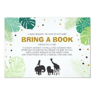 Tarjeta Los libros para el bebé traen a animales de un