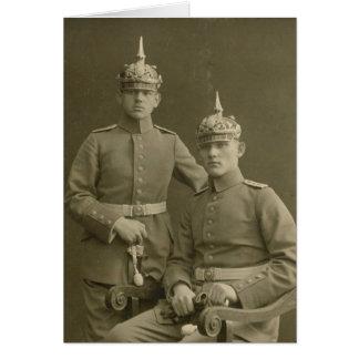 Tarjeta Los muchachos del Kaiser