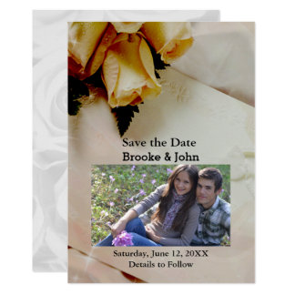 Tarjeta Los rosas amarillos y blancos de la marfil