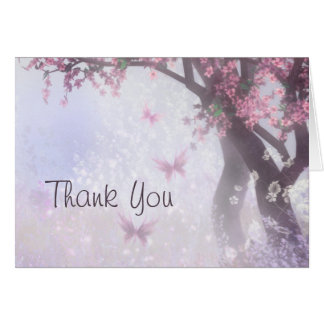 Tarjeta Los sueños encantados le agradecen