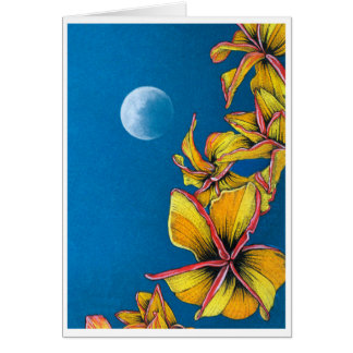 Tarjeta Luna azul